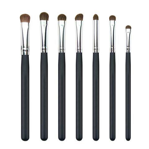 7 piece eye shadow blending brush set free shipping 38