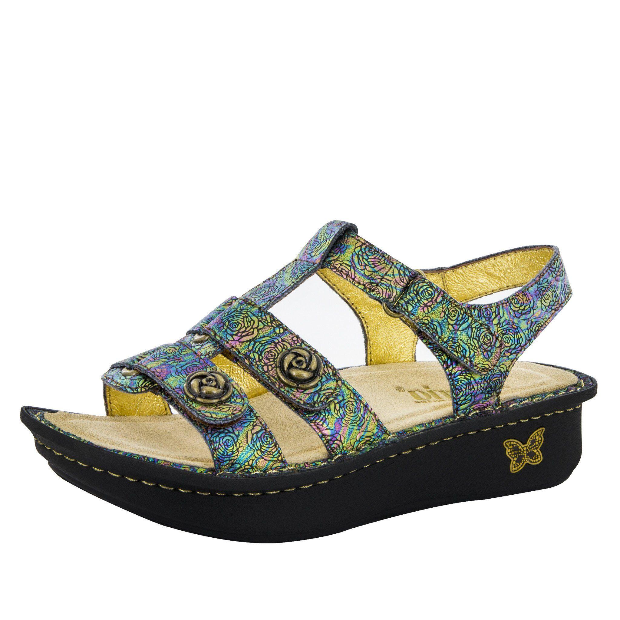 83e4196c438 Kleo Abalone Rose Sandal – Alegria Shoes