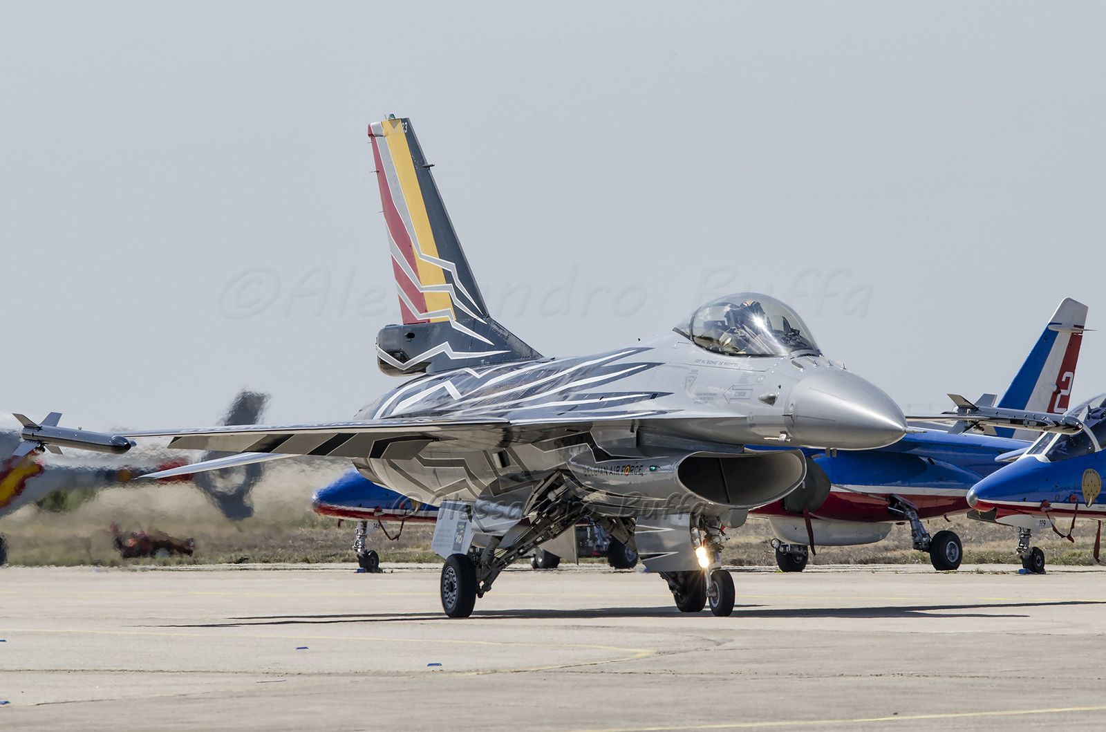 General Dynamics F-016AM Fighting Falcon FA123 Belgiam Air Force