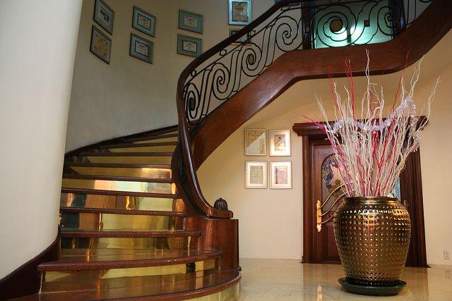 Staircase In The Majestic Hotel Saigon Saigon Graham Greene