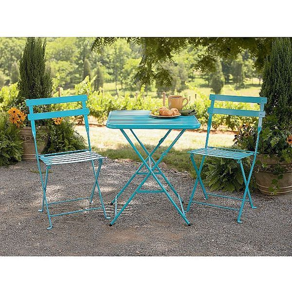Would love this French bistro set for our front patio