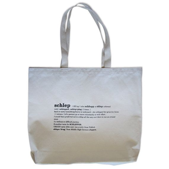 Schlep Environmentally Friendly Canvas Tote Bag Natural By Apt3l 17 00 Totes