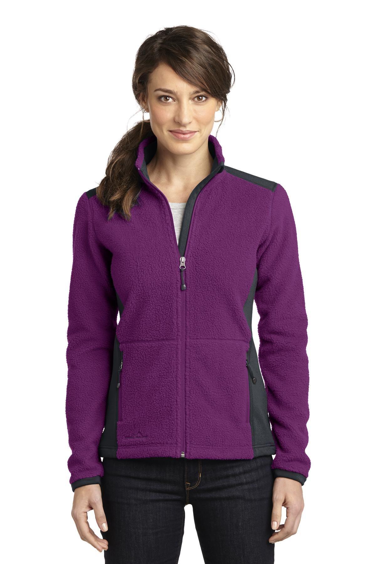 Eddie Bauer Ladies FullZip Sherpa Fleece Jacket. Plush