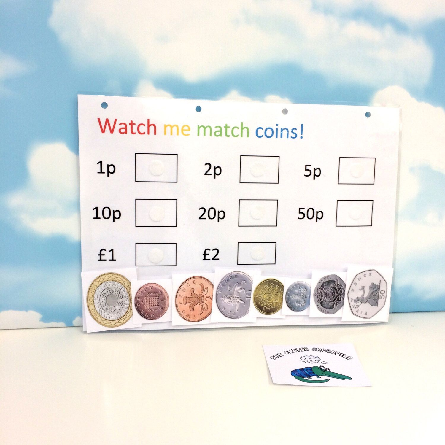 Learning Coins Money Ks1 Matching Game Teaching
