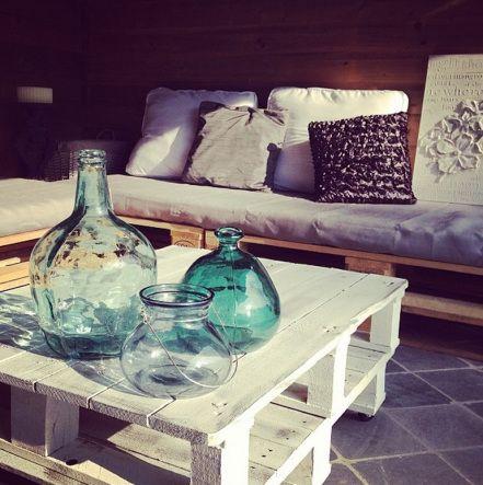 palette bois diy table