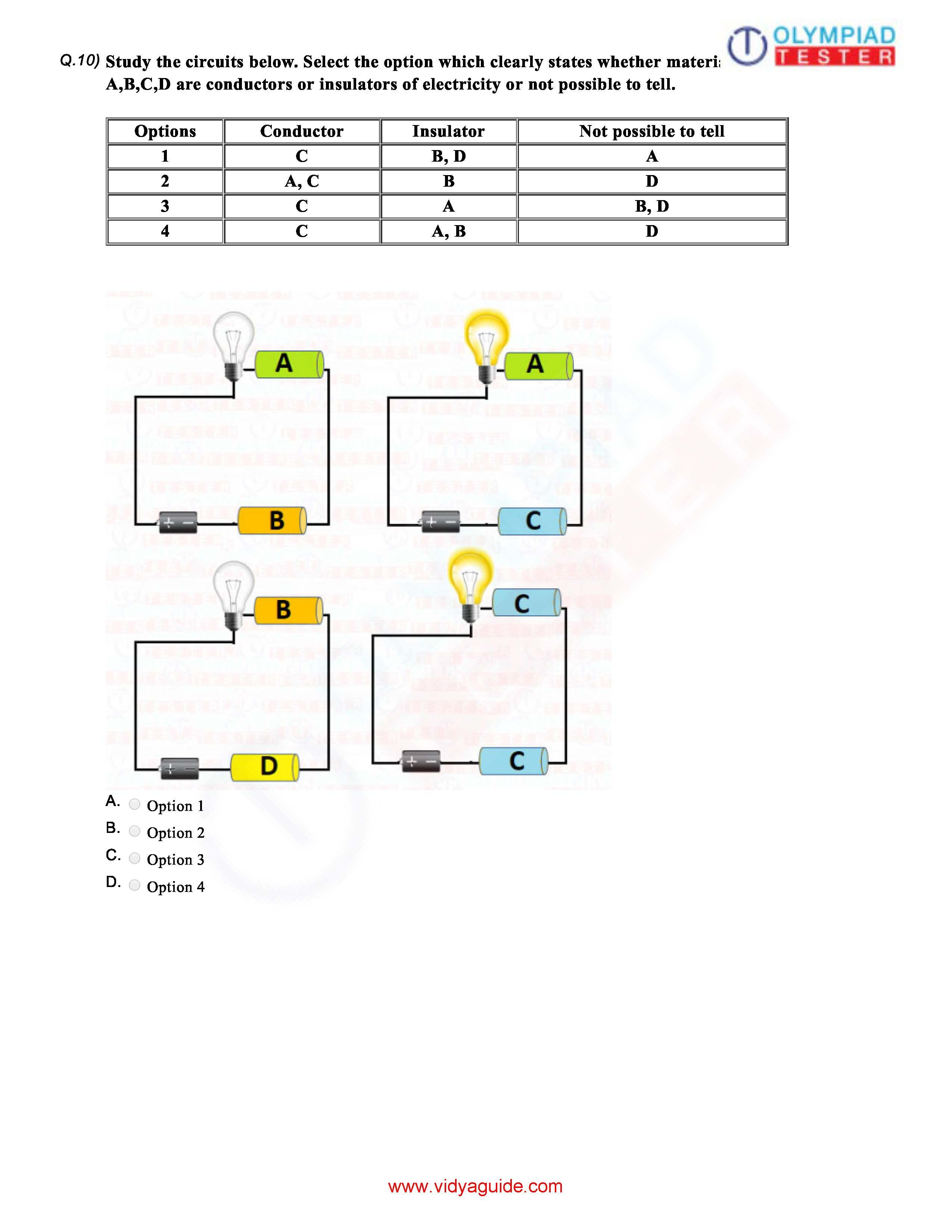 Class 6 Science Electricity Circuits Worksheet 03 Science Electricity Fun Science Worksheets