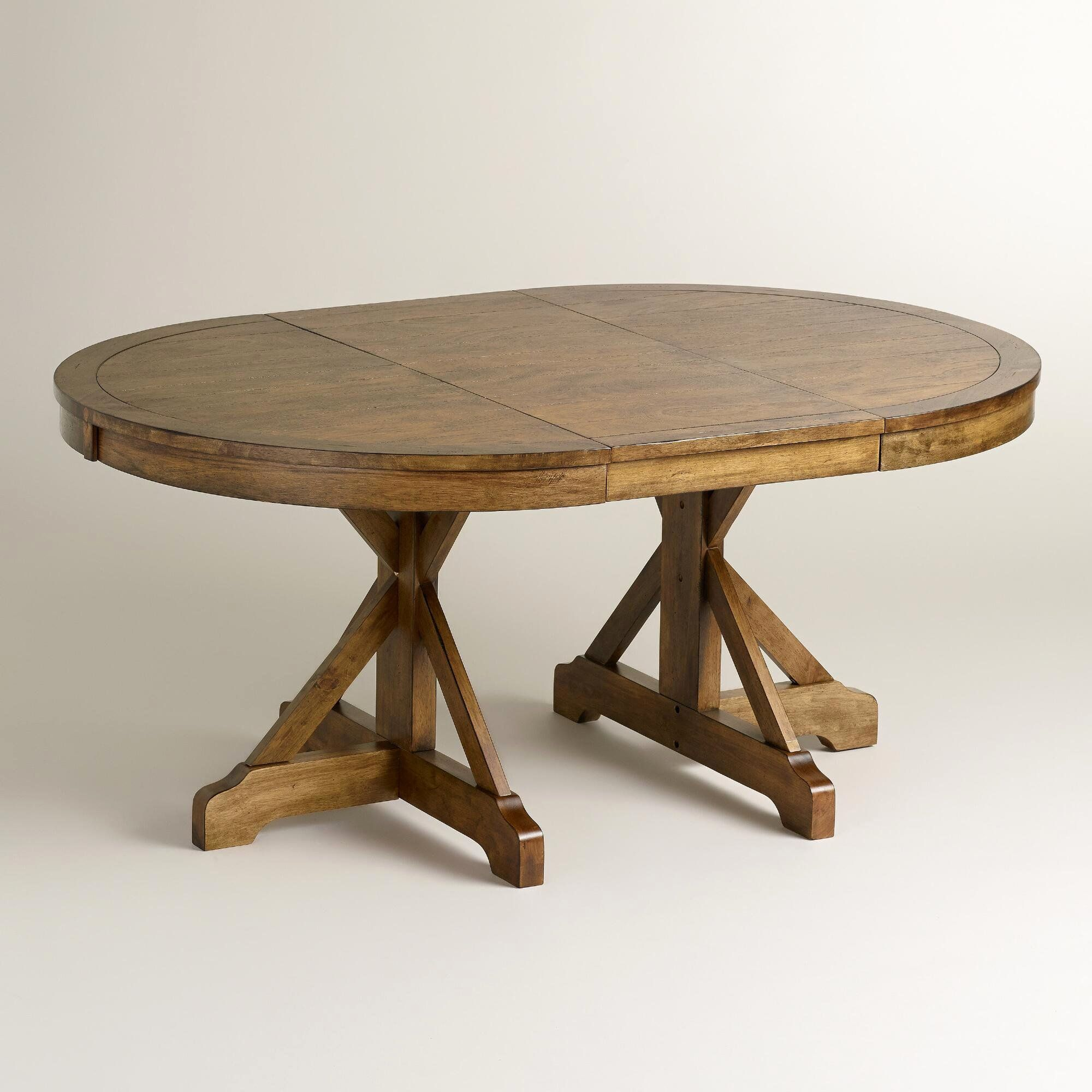 Expandable Round Pedestal Dining Table: Review of 10 ...