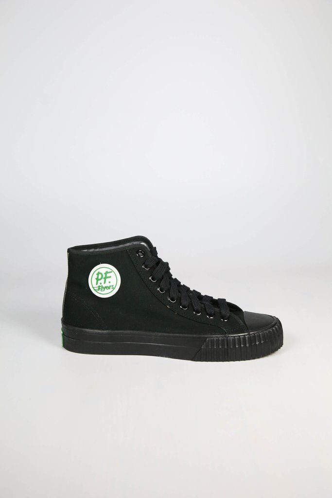 Can't go wrong with PF Flyers in black on black - Free Shipping