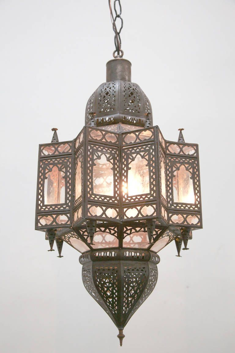 Large Moroccan Glass Star Shaped Light Pendant Moroccan Lamp Moroccan Lighting Turkish Lamps