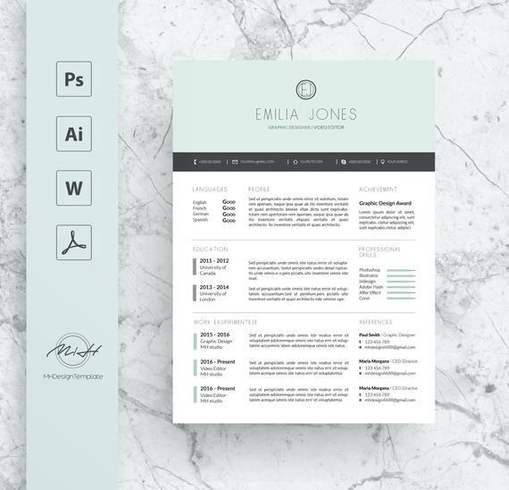 Pastel Blue Professional Resume Template Cv Template Free Cover Letter Cv Template Free Resume Template Professional Free Cover Letter