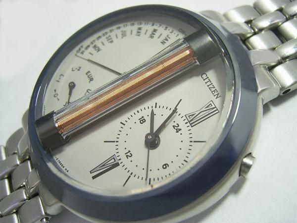 First radio controlled watch