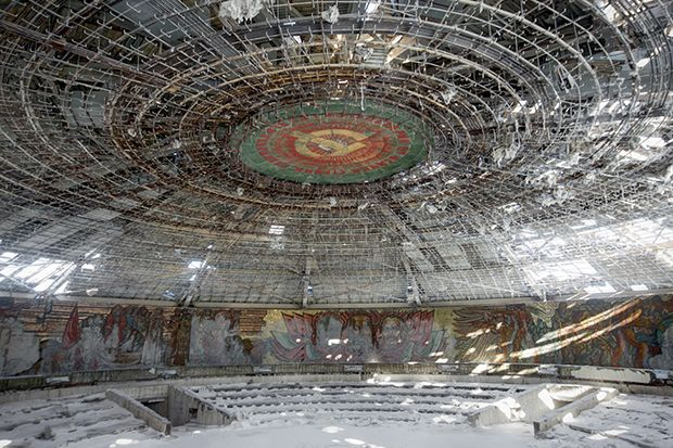 Amazing Photo From Rebecca Litchfields Book Soviet Ghosts The - 24 mysterious haunting abandoned buildings soviet union