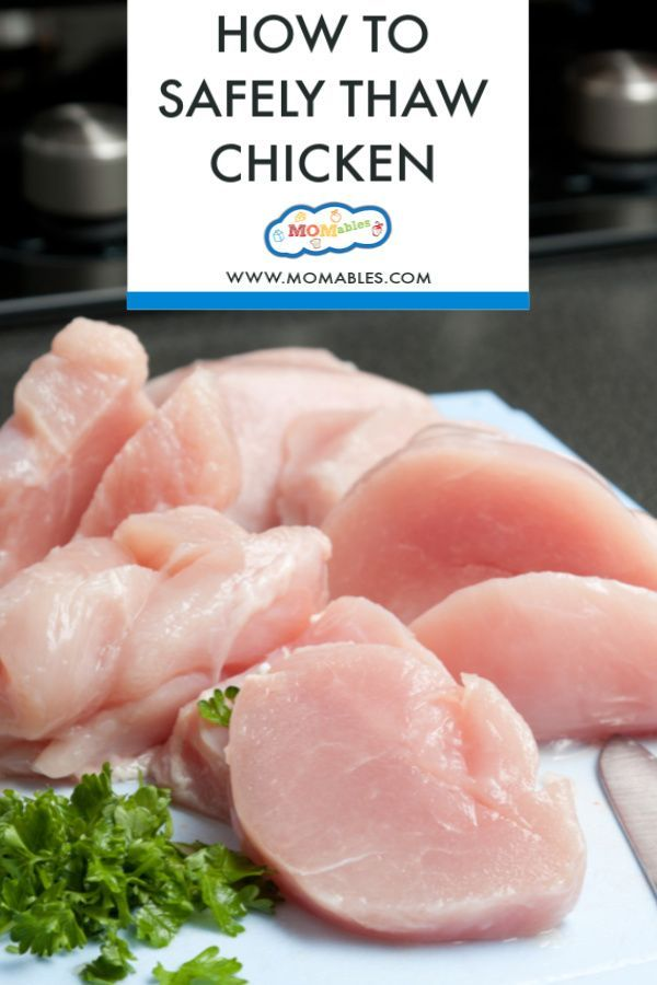 3 Easy Ways To Thaw Chicken Safely Thawing Chicken Easy