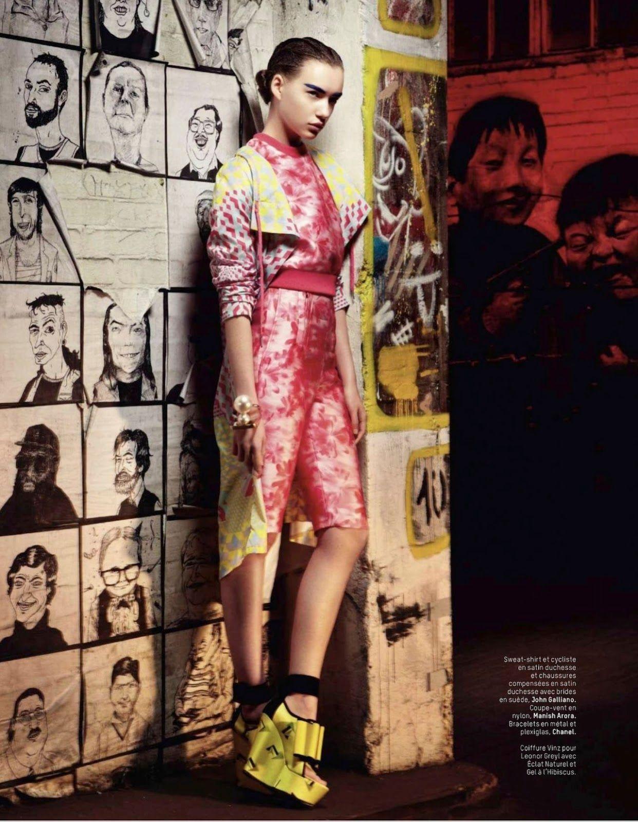 Underground: Cordelia Kuznetsova By Timur Celikdag For L ...