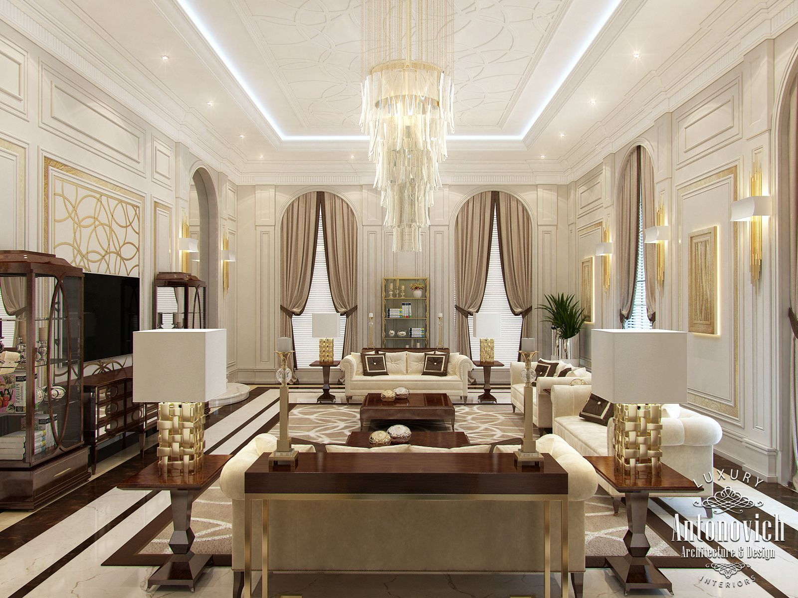 Luxurious Interior Design Interiors Classic Style Contemporary Interior Design Design Interior
