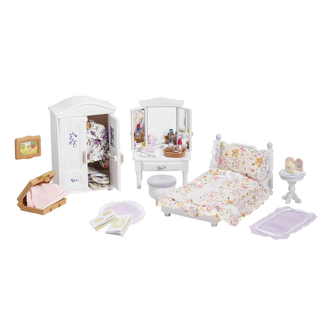 calico critters girls bedroom set  muebles para muñecas