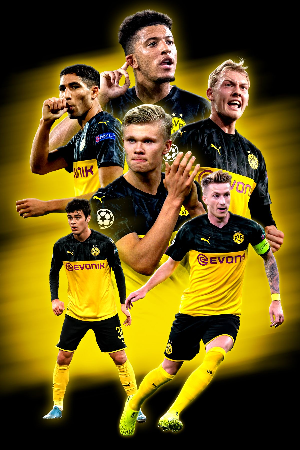Borussia Dortmund Poster In 2020 Soccer Guys Soccer Photography Football Poster