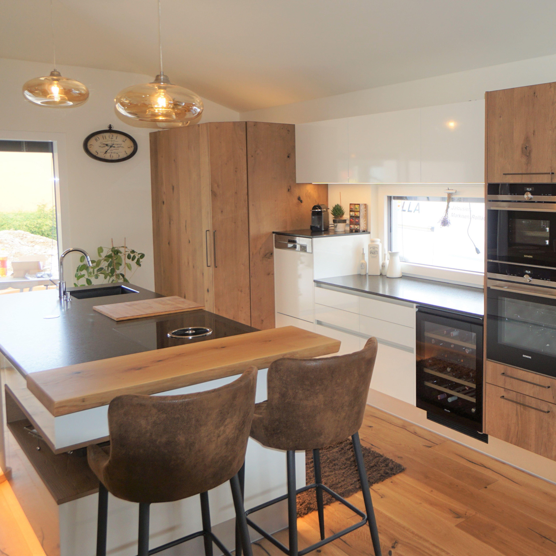 Stilvolle Küche hochglanz in 2020 Stylish kitchen