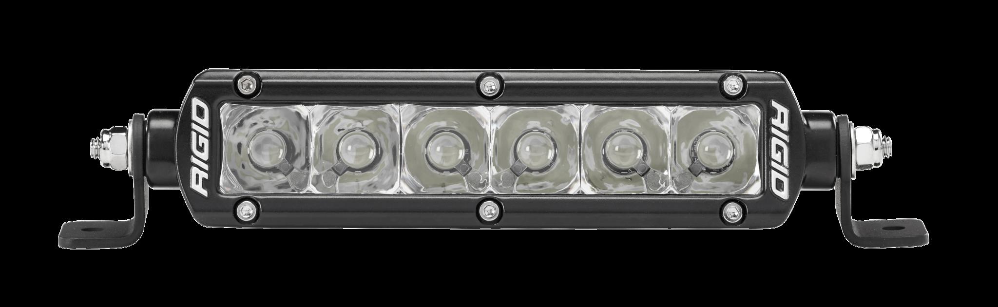 Rigid 6 lighting solutions and led light bars backwoods adventure mods the sr series pro led light bars provide a sleek aloadofball Choice Image