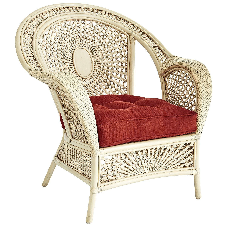 Azteca Armchair   Antique Parchment | Pier 1 Imports · Wicker FurnitureArmchairsOttomansFamily  ...