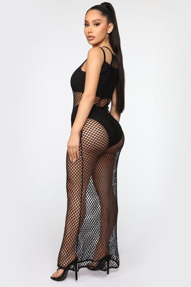 Naked fishnet dress Maxi Fishnet Dress Off 55 Www Usushimd Com