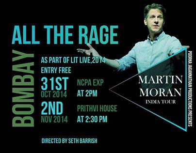 "Check out new work on my @Behance portfolio: ""Martin Moran India Tour"" http://be.net/gallery/32507443/Martin-Moran-India-Tour"