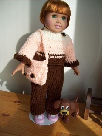 Crochetville Free Pattern For 18 Doll Dolled Up Pinterest