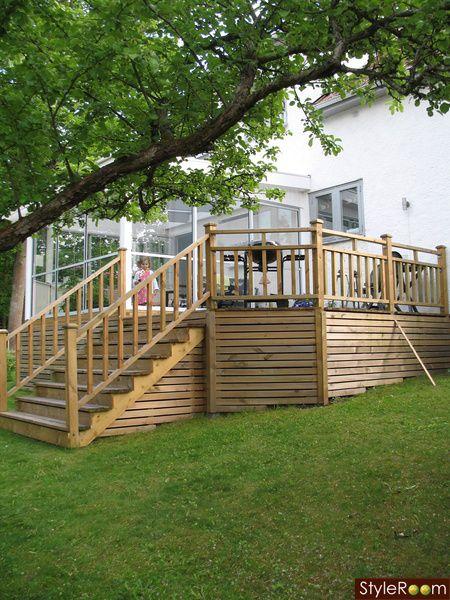 trädäck,uterum,altan,trappa,inglasat | Trädäck inpiration ...