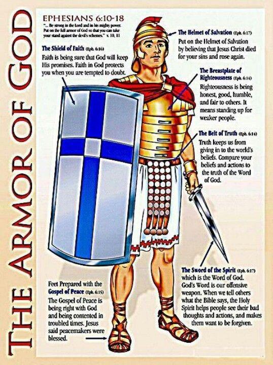 Full Armor Of God Armor Of God Bible Word Of God
