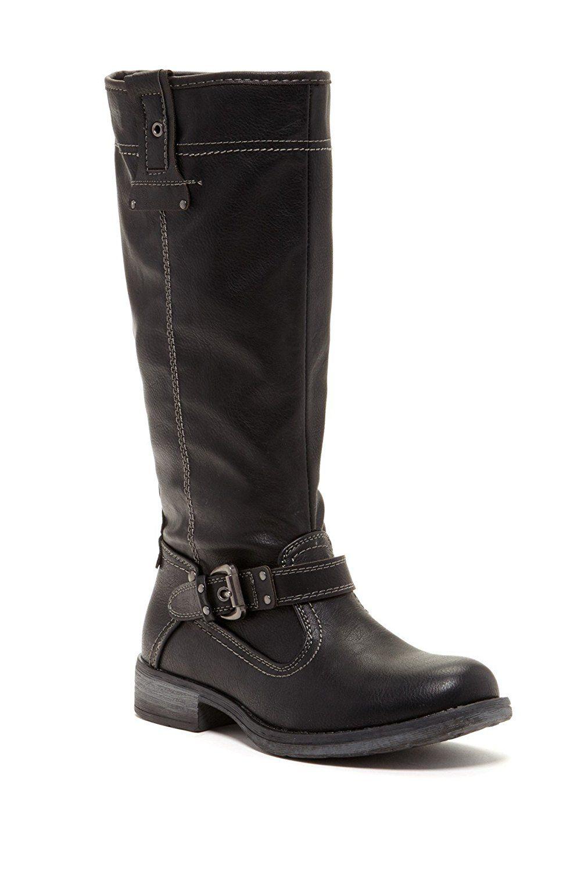 433037e98b6 Bucco Cabana Women's Tall Faux Shearling Lined Boots With Zipper ...