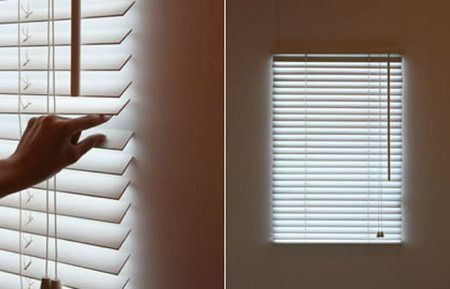 Bright Blind Store Lumineux House Systems Fausses