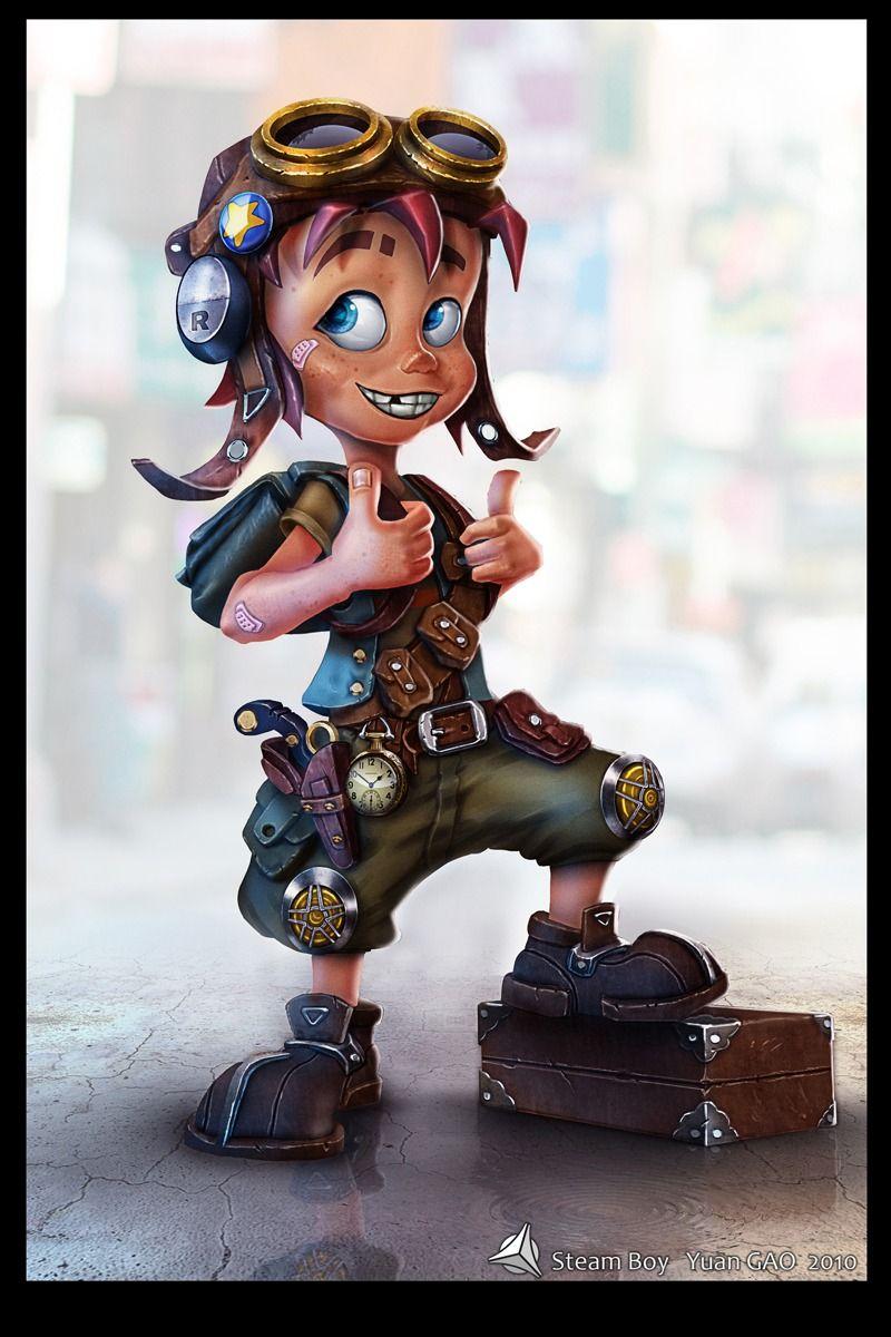 Steampunk Cartoon Characters