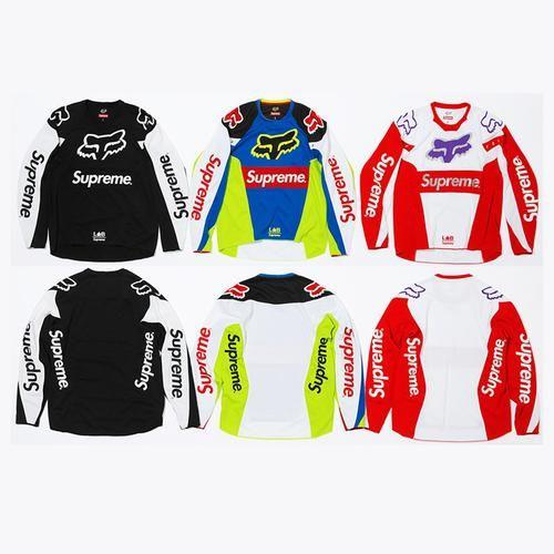 c32b185b3f9c Supreme® Fox Racing® Moto Jersey Top - Supreme FOX Racing Spring Summer  2018 collaboration