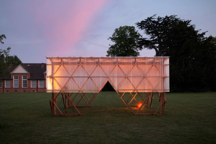 Invisible Studio And Students Build Urban Room Pavilion As Event