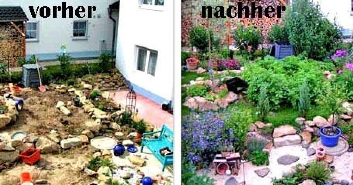Unsere Garten Community War Fleissig Hier Zeigen Wir Die Ergebnisse Ihrer Umgestalteten Garten In Schoner Garten Bilder Garten Neu Gestalten Gartendesign Ideen