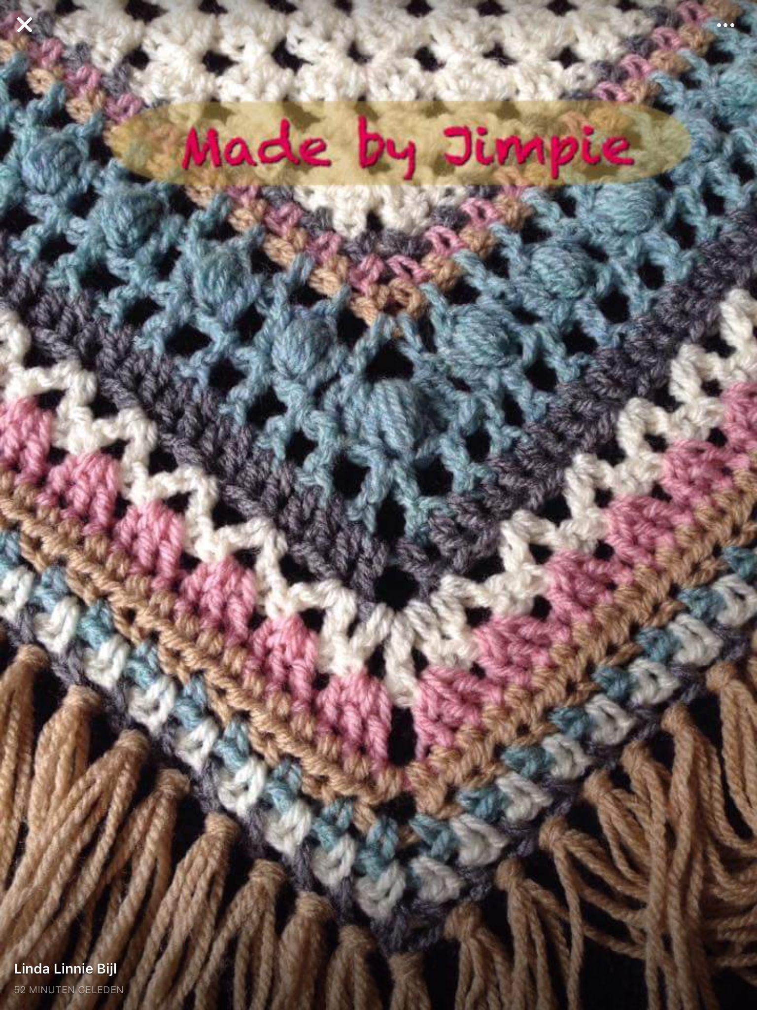 Voorbeeld Gehaakte Rand Voor Omslagdoek Crochet And Knit