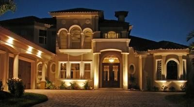 Beau Architectural Lighting Brings Out The Best In This Southwest Florida Home.