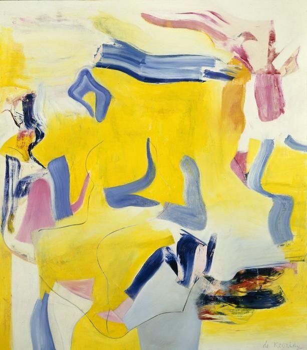 , 1981 por Willem De Kooning (1904-1997, Netherlands)