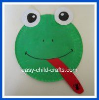 frogs crafts preschool - Google Search  sc 1 st  Pinterest : frog craft paper plate - pezcame.com