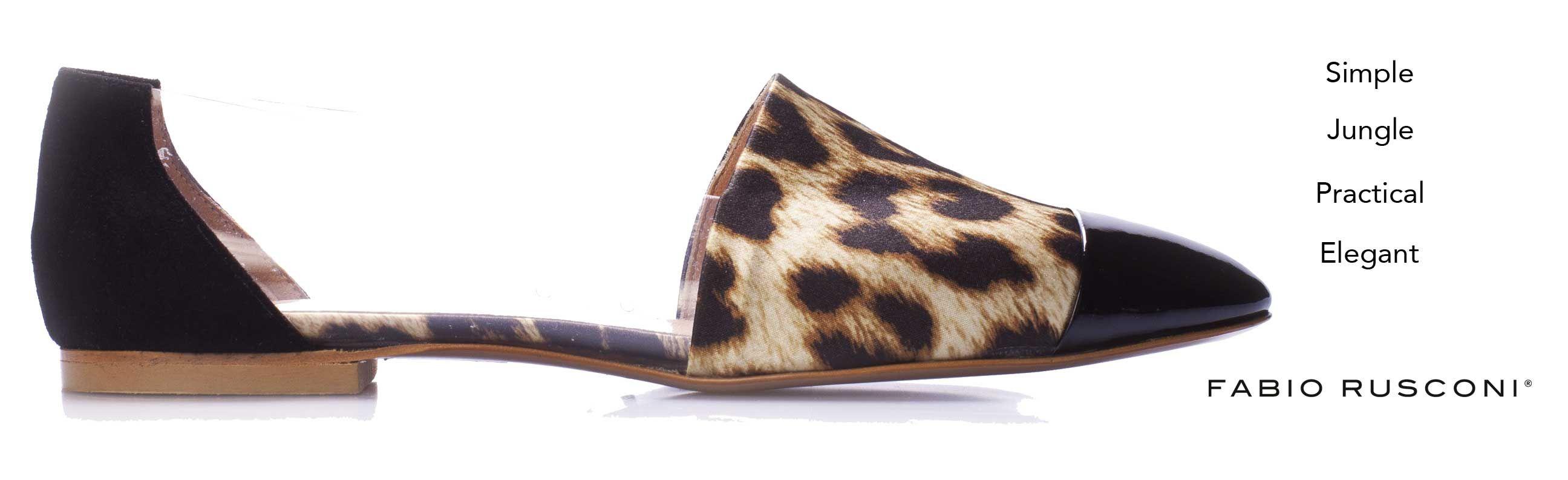 Simple, elegant, jungle, practical: #FabioRusconi Leopard printed satin slipper, with transparent details: http://bit.ly/1lhxaZT #MadeIntaly #Shoes