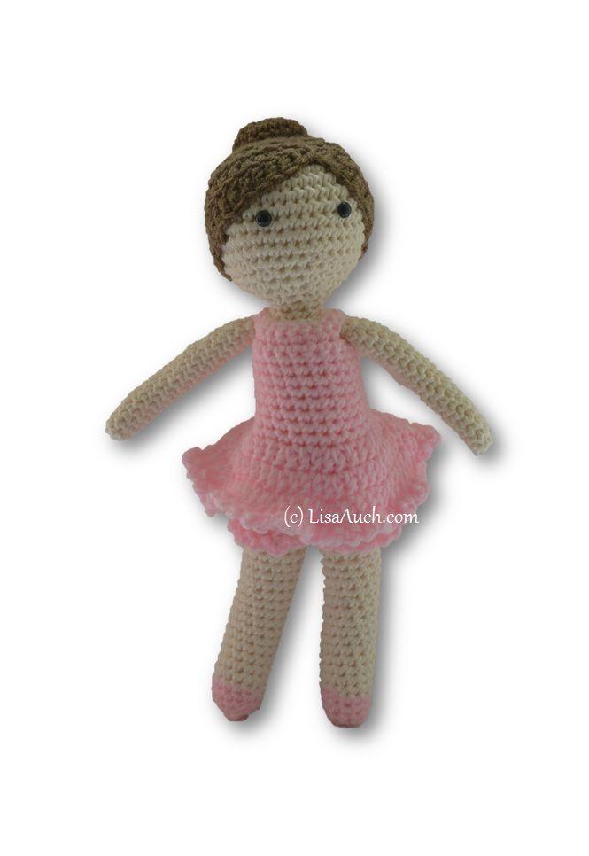 Free Crochet Amigurumi Doll Pattern (A Basic Crochet Doll Pattern ...