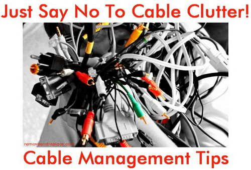Cable Management Solutions – Tips To Organize Your Cables ... on