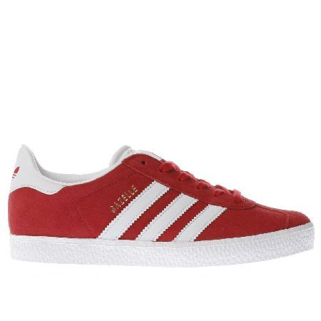red adidas gazelles kids