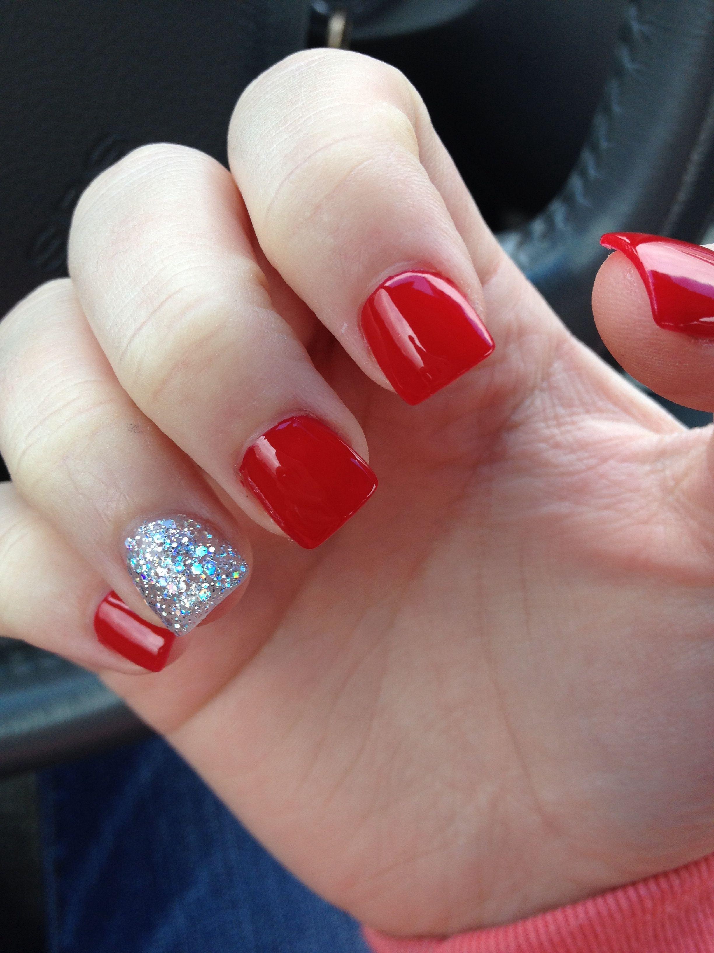opi big apple red nails
