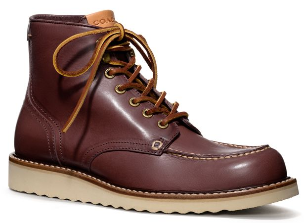Coach's Rugged, Burgundy Boot | Fashion, Men's shoes and Fashion ...