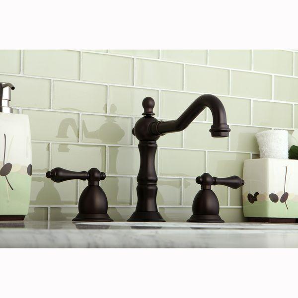 Best 25 Victorian Bathroom Faucets Ideas On Pinterest: Victorian Oil Rubbed Bronze Widespread Bathroom Faucet