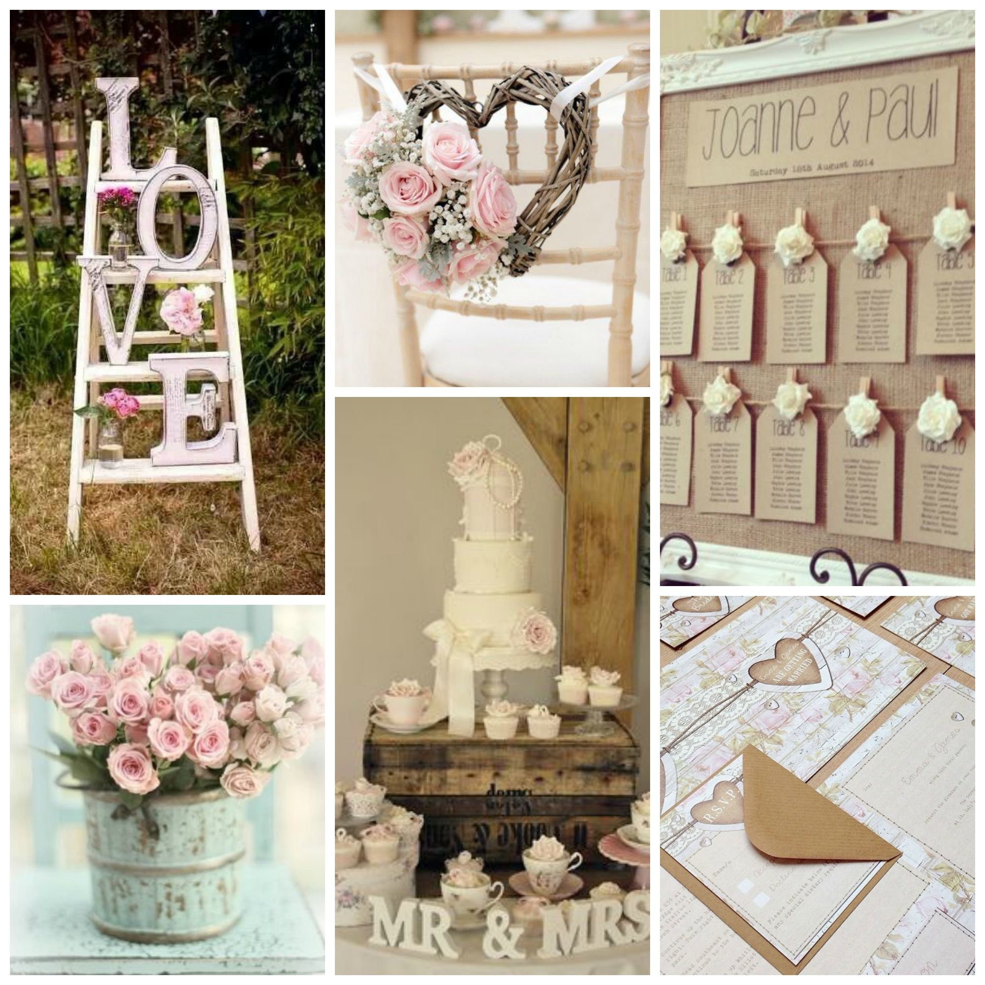 Shabby chic wedding cake table shabby chic wedding for Tenue shabby chic
