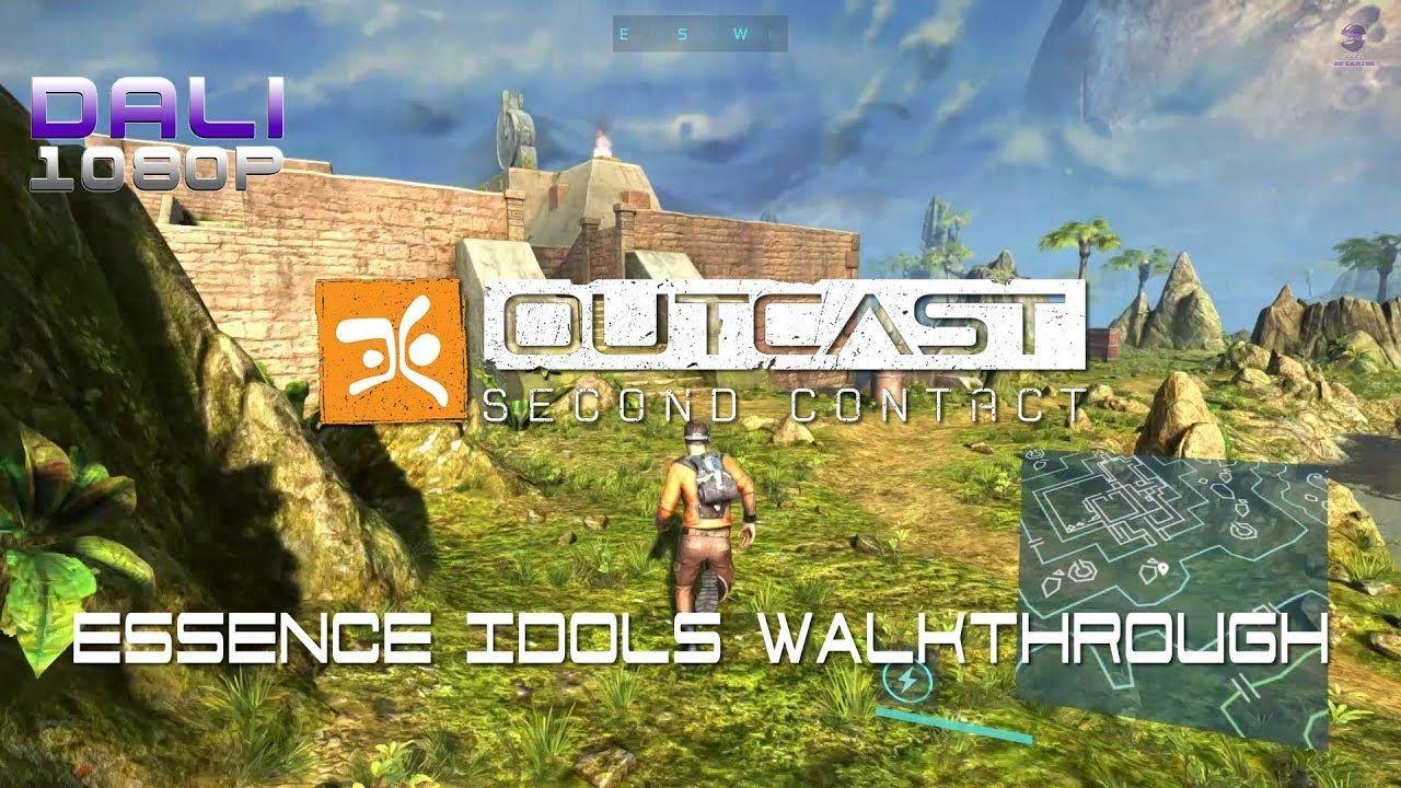 Outcast: Second Contact - Essence Idols Walkthrough A quick