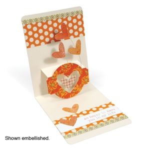Sizzix Stanzer Thinlits Box Milk Carton