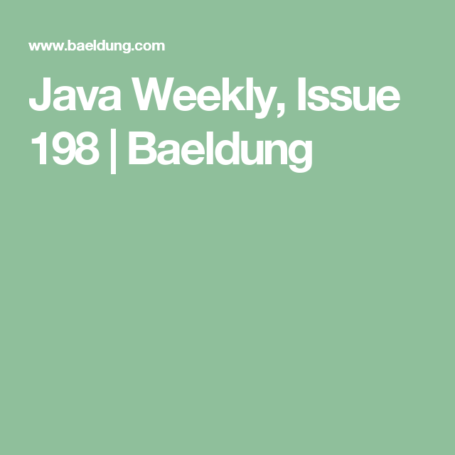 By Photo Congress || Java 8 Features Baeldung